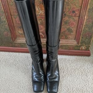 Nine West Leather Dress Boots w/Buckle